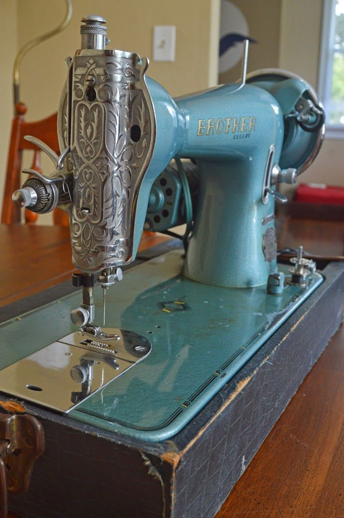 My 'new' 1947 Brother Sewing Machine   Sally Ann
