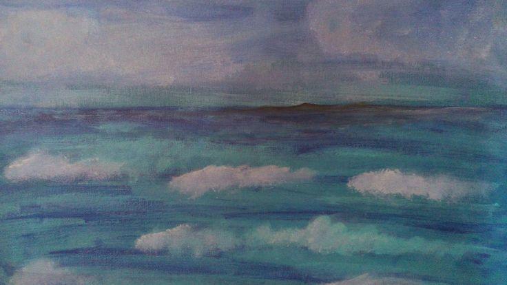 Il mio mare (30x50)