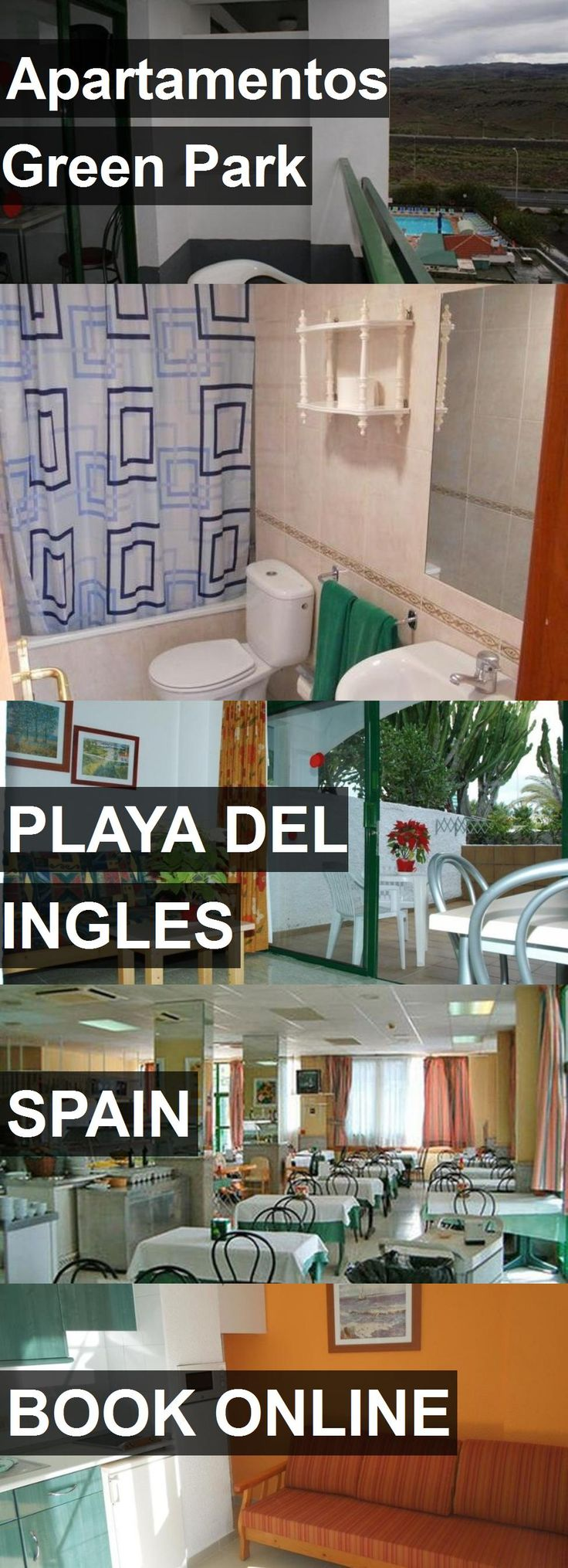 Hotel Apartamentos Green Park in Playa del Ingles, Spain. For more information, photos, reviews and best prices please follow the link. #Spain #PlayadelIngles #travel #vacation #hotel