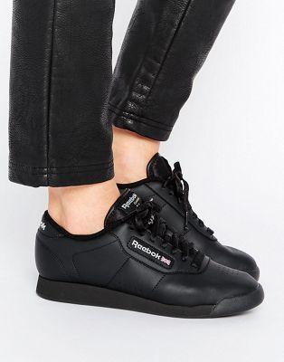Reebok Princess Spirit Black Low Top Sneakers