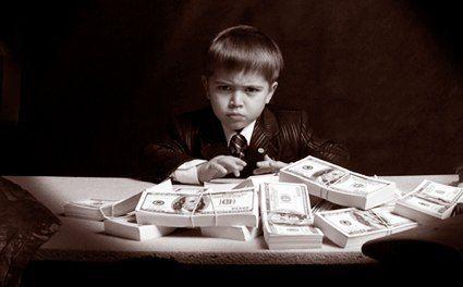 дети богатых родителей