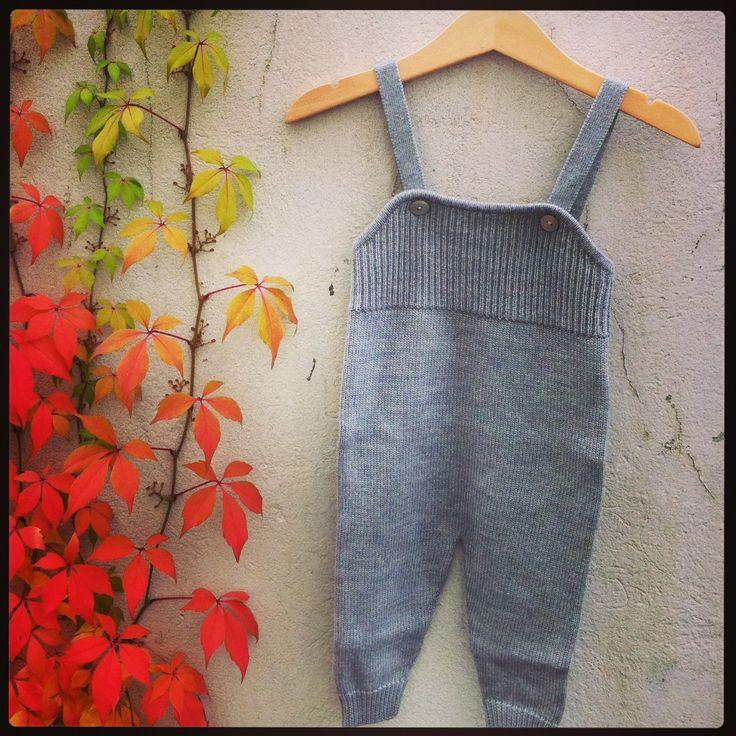 FUB - Baby Overall 100% merino wool www.markusogmolly.no