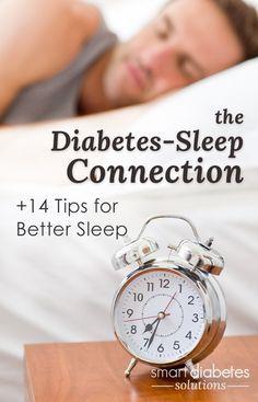 The Diabetes-Sleep Connection: 14 ways to get better sleep to improve diabetes