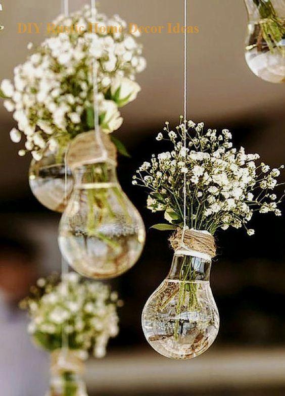 15 Diy Rustic Decoration To Help Upgrade Your Home In 2020 Diy Vintage Wedding Fun Wedding Decor Diy Wedding Decorations