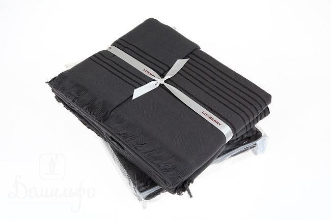 Набор полотенец SIMPLE антрацит (3шт) от Luxberry (Португалия) - купить по низкой цене в интернет магазине Домильфо