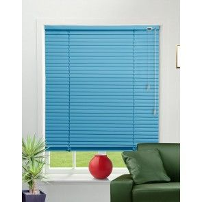 Teal Venetian Blinds