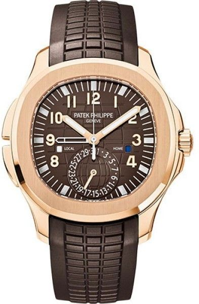e65610a692719 Patek Philippe Aquanaut 5164R 18K Rose Gold with Brown Dial Automatic  40.8mm Mens Watch Patek