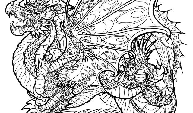 Great Image Of Free Dragon Coloring Pages Entitlementtrap Com Monster Coloring Pages Realistic Dragon Dragon Pictures To Color