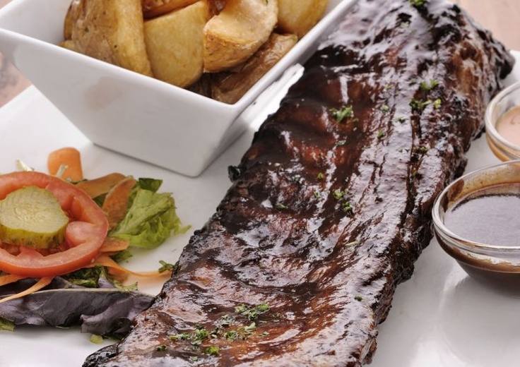 Ribs and wedges - tuck in and let us know what you think