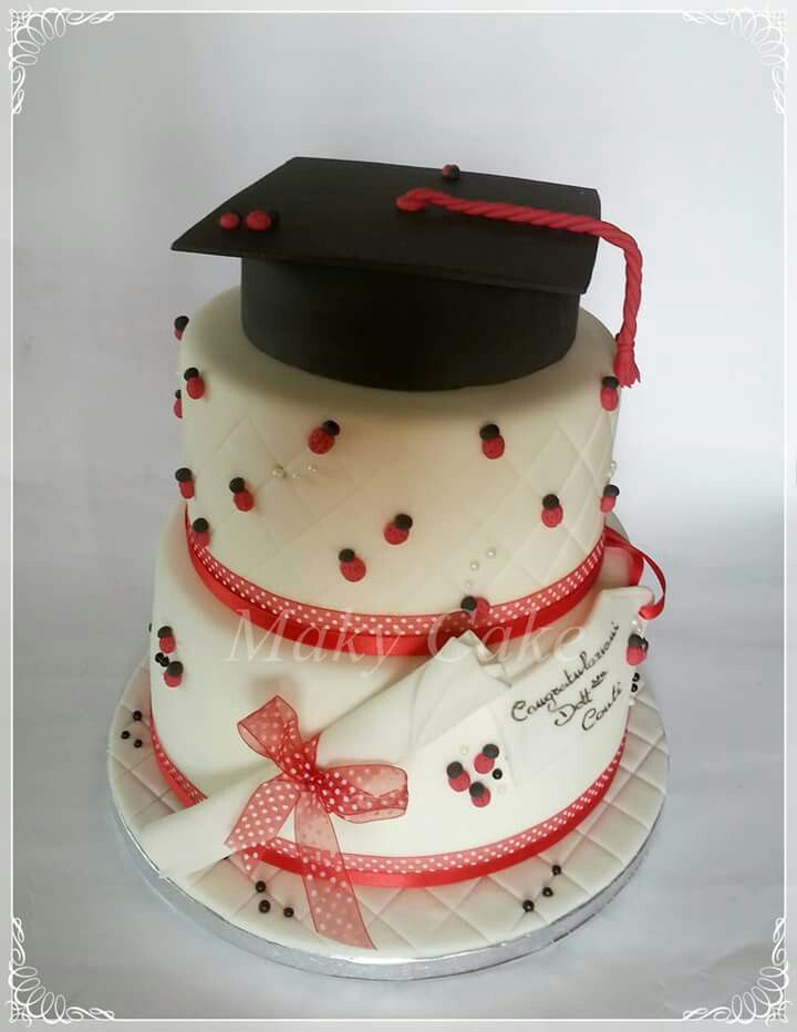 Celebration cake torta laurea