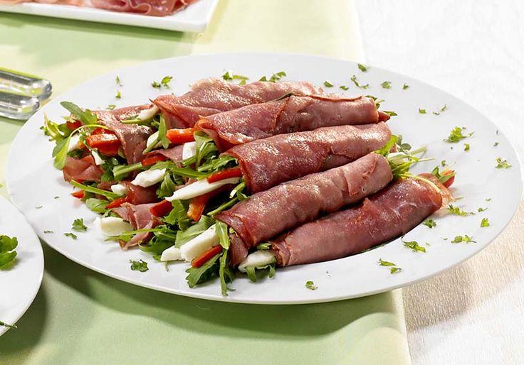 Italiaanse runderrolletjes met mozzarella en pesto   Colruyt