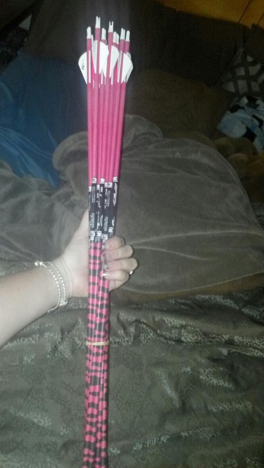 My arrows (=