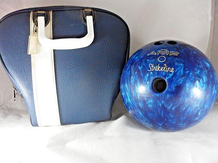 Details About Amf Strikeline 12 Lb Bowling Ball Black