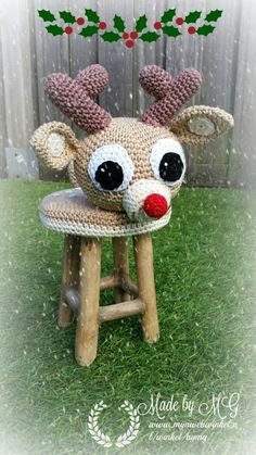 Rudolf krukje met muziekdoosje