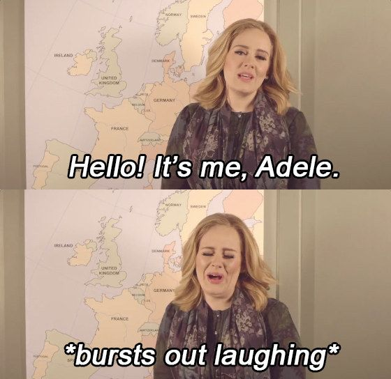 "Taking to Twitter to make the announcement, Adele reveals that she's been ""bluffing the whole time"" and she is, of course, going on tour."