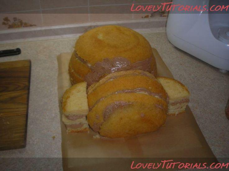 МК торт Гарфильд -Garfield cake tutorial - Мастер-классы по украшению тортов Cake Decorating Tutorials (How To's) Tortas Paso a Paso