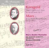 Korngold: Piano Concerto, Op. 17; Marx: Romantisches Klavierkonzert [CD], 02810645
