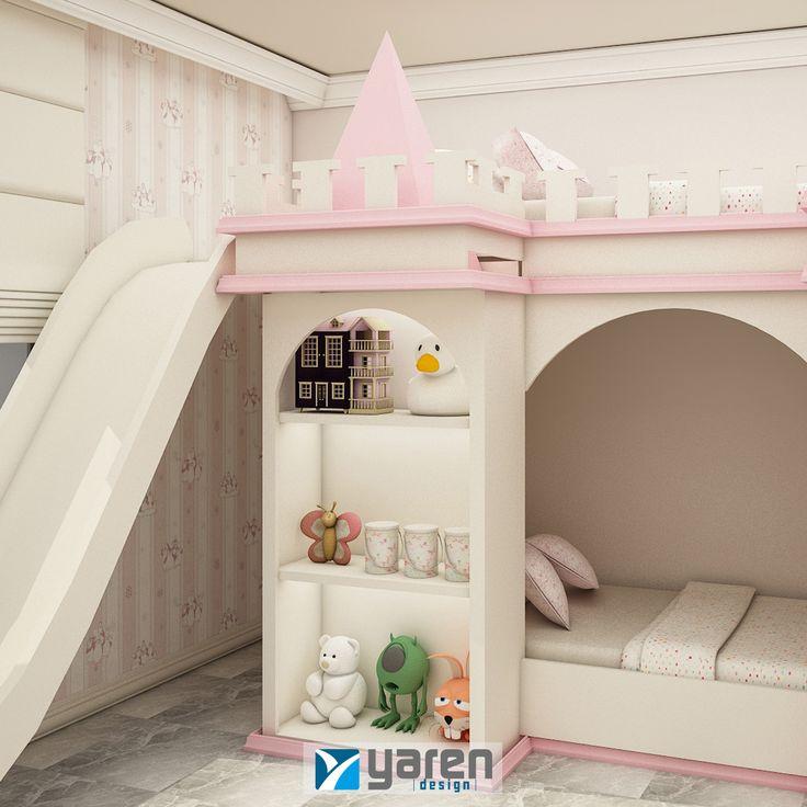 Çocuklarınız için masal diyarı gibi bir oda tasarlayabiliriz. #yarendesign