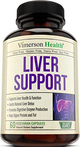 Product review for Liver Support Supplement to Cleanse & Detox - Natural Non-Gmo Herbal Blend with Milk Thistle + Artichoke Extract + Turmeric + Ginger + Beet Root + Alfalfa + Zinc + Choline + Grape Seed + Celery Seed -  Reviews of Liver Support Supplemen