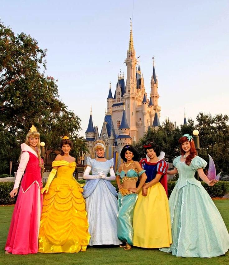 Disneyland Disney World Characters Photo by MelodylovesDisney
