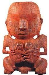 The Ancient Maori Pukaki Carving