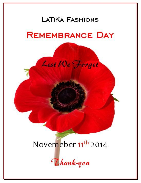 Thank you to all those who have served. Today we remember you.