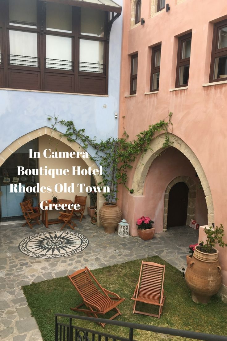 Exploring the In Camera Art Boutique Hotel in the Medieval Old Town of Rhodes, Greece - Life Beyond Borders.