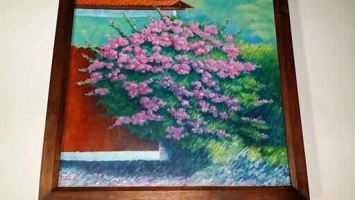 Flores - Oleo
