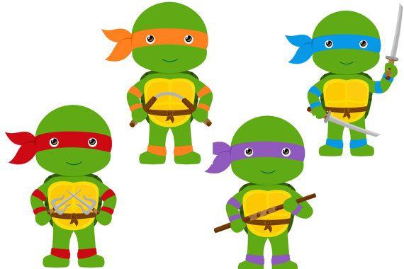 Super Cute Teenage Mutant Ninja Turtle by SweetLilysConfection, $15.00