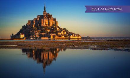 Mont Saint-Michel:1 ou 2 nuits avec petit déjeuner-champagne et amuse-gueule en option à l'hôtel Les 13 Assiettes pour 2