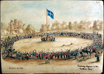 Eureka Stockade in Ballarat, Victoria, 1854. Great Grandfather. Mum's side. From Wales to the diggings.