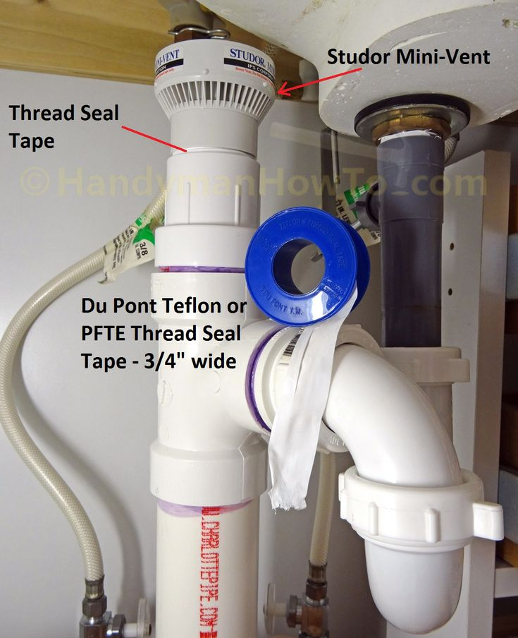 This project explains how to fix a sewer gas smell coming from under the bathroom sink by replacing the Studor Mini-Vent air admittance plumbing valve.