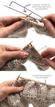 Aprende a tejer este precioso #gorrodelana con pompón de pelo, tutorial y #patrón gratis http://bit.ly/1lTjK86