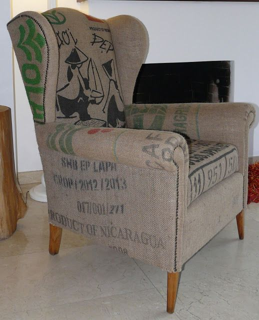 Upcycling design tapizado sillon orejero original diy pal chabolito en 2019 muebles - Precio tapizar sillon orejero ...