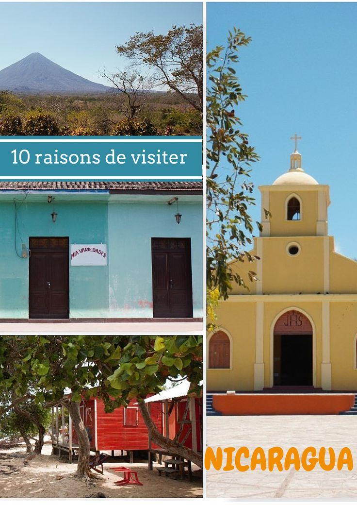 10 raisons de visiter le Nicaragua, une destination loin du tourisme de masse, peu couteuse, avec une nature luxuriante et de magnifiques villes coloniales.