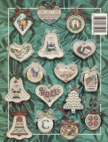 Christmas-Ornaments-American-School-Needlework-Cross-Stitch-Pattern-Booklet-3507