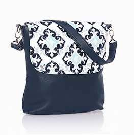 Introducing Studio Thirty-One!  Build Your OWN BAG!!  Lovely Modern Bag in Midnight Navy~  www.mythirtyone.com/CarlajaneDonovan31  #PartyWithTeam3125