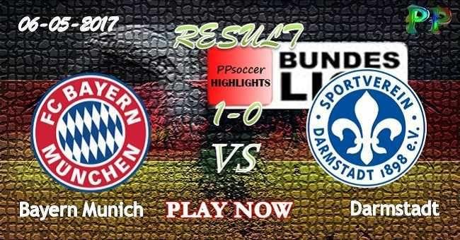 Bayern Munich 1 - 0 Darmstadt HIGHLIGHTS