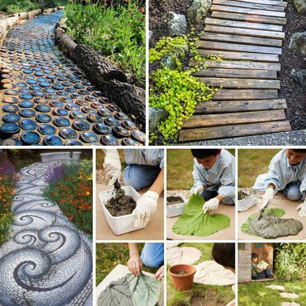 53 best projects to try images on pinterest head scarfs hand 25 lovely diy garden pathway ideas solutioingenieria Gallery