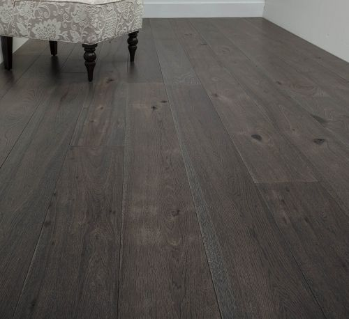 Dark Wood Floor And Prefinished Hardwood Flooring From Carlisle Wide Plank Floors Hickory STONE WALL