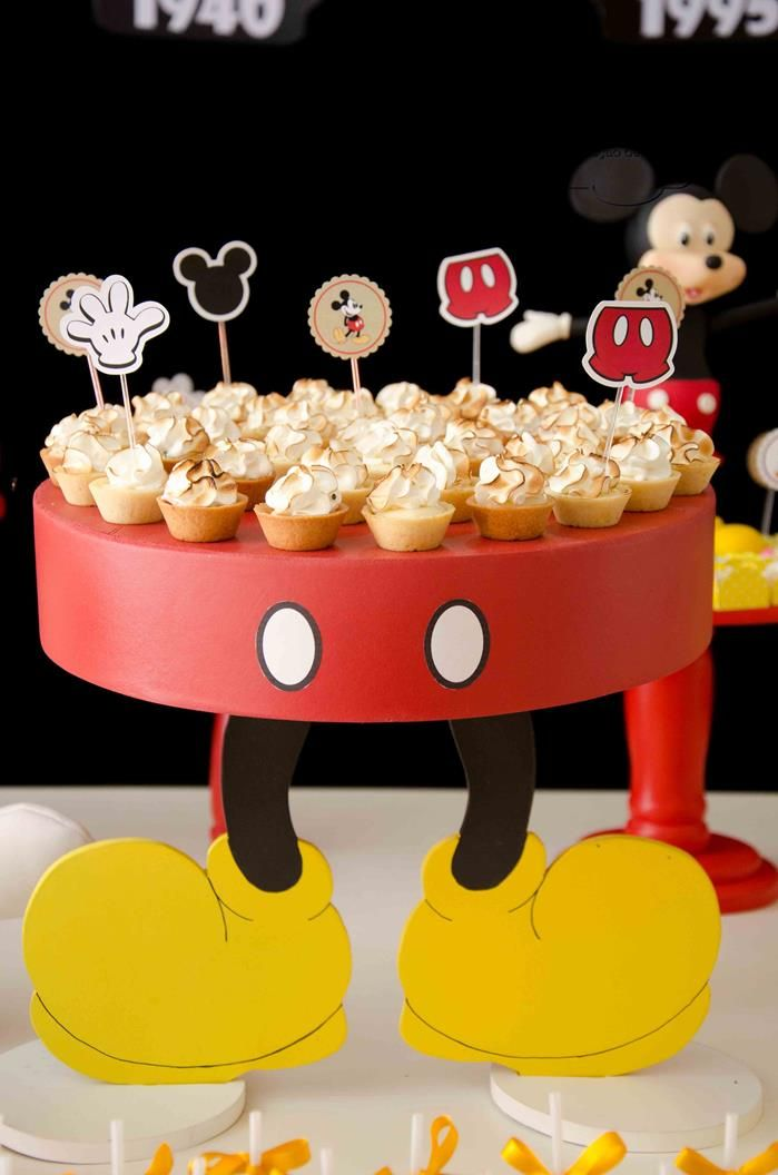 Mickey Mouse Party Planning Ideas Supplies Idea Cake Decorations