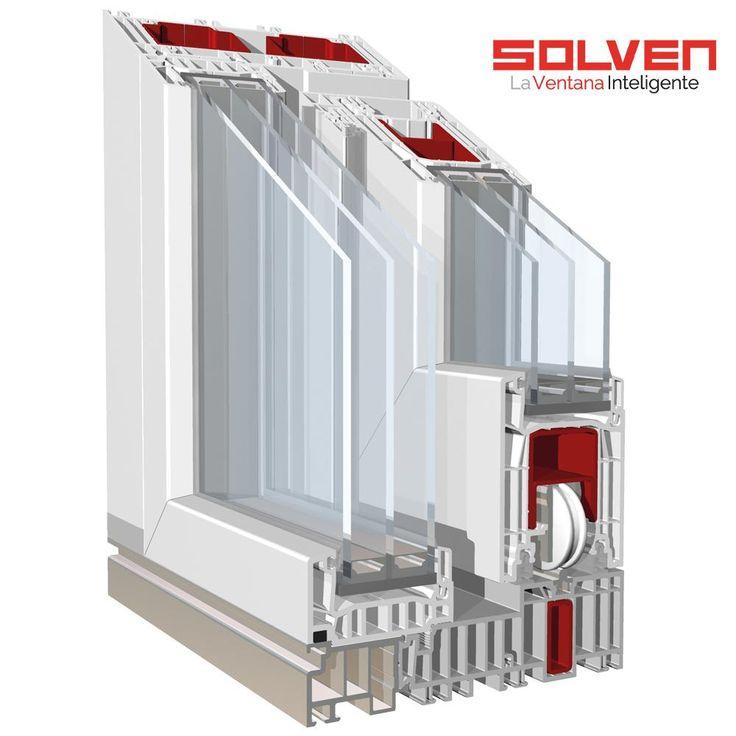 Premidoor 76 elevadora solven pvc