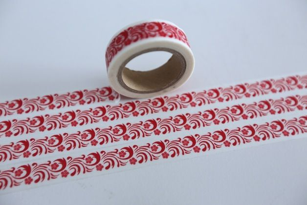 Washi Tapes sind bedruckte Klebebänder aus Reispapier (japanisch Washi: Reis). Die matten Bänder lassen sich von Hand reißen und kleben auf sehr vielen Oberflächen, von diesen lassen sie sich...