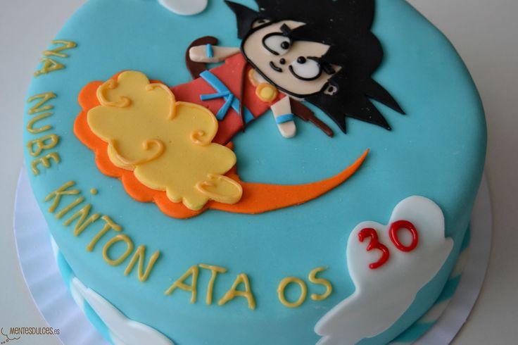 decoracion de pasteles de goku - Buscar con Google | Cakes ...