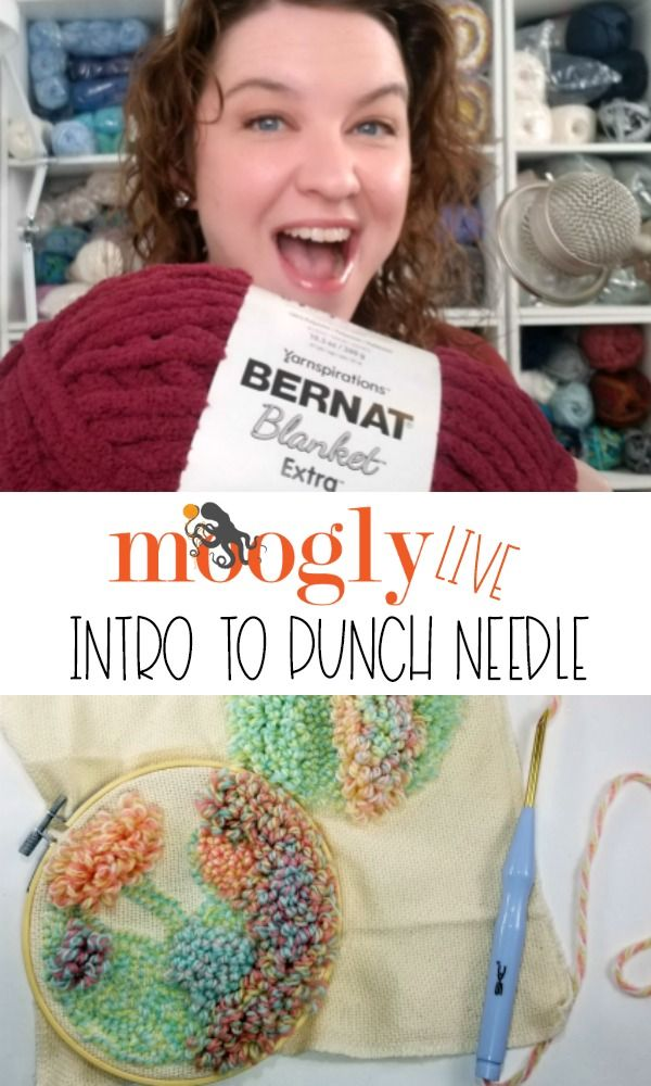 Facebook Youtube Live January 2020 Intro To Punch Needle