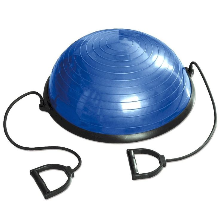 Tone your core and your arms whilst improving stability, balance and coordination with the Tunturi Balancing Ball Trainer covering only 58cm in diameter for compact exercise.