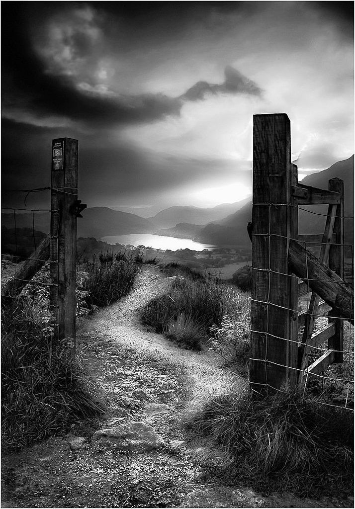 "Beddgelert, Cumbria, England | ""Twilight Gate"" Photo by Alan Jenkinson on flickr"