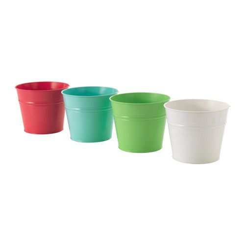 Ikea Socker Plant Pot It Is Easy To Make A Drainage Hole In The Bottom By Lightly Ting Driver On Semi Drilled Locat