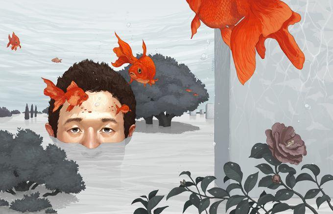 Between Two Waters by Kazu Tabu