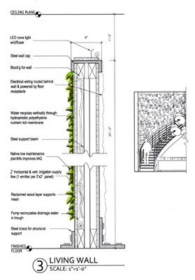 Living Wall Provides Healthy Indoor Air Quality And